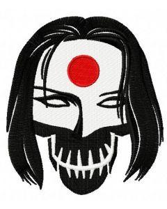 Suicide Squad Katana 2 embroidery design