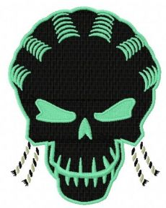 Suicide Squad Slipknot 2 embroidery design