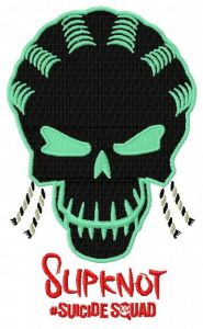Suicide Squad Slipknot embroidery design