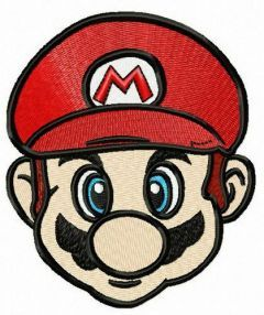Super Mario 3 embroidery design