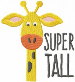 Super tall free embroidery design