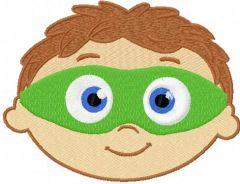 Super Why 3 embroidery design