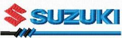 Suzuki Logo Small Size embroidery design