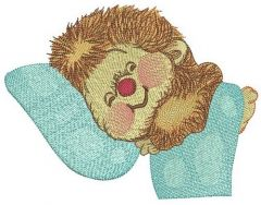 Sweet hedgehog's dreams 2 embroidery design