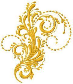 Swirl 22 embroidery design
