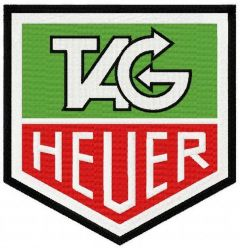 TAG Heuer 2 embroidery design