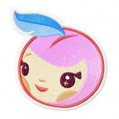 Tokidoki Apple embroidery design