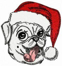Teasing Christmas embroidery design