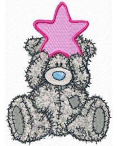 Teddy Bear Happy Christmas! embroidery design