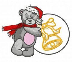 Teddy's winter 3 embroidery design