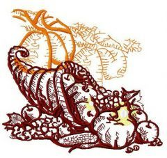 Thanksgiving day 3 embroidery design