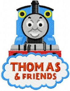 Thomas the Tank Engine 4 embroidery design