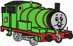 Thomas the Tank Engine 2 embroidery design