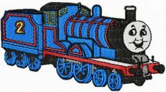 Thomas the Tank Engine 3 embroidery design