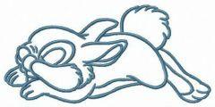 Thumper's dreams embroidery design