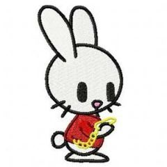 Tokidoki Bunny sub. Alice in Wonderland embroidery design