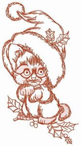 Too small to be Santa 2 embroidery design
