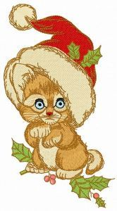 Too small to be Santa embroidery design