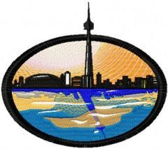 Toronto embroidery design
