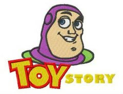 Toy Story Buzz embroidery design