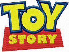 Toy Story Logo embroidery design