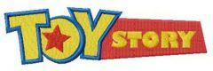 Toy Story logo 2 embroidery design