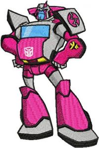 Transformers - Ratchet embroidery design