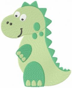 Trex mother embroidery design