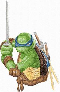 Leonardo embroidery design