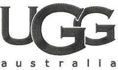UGG Australia logo embroidery design