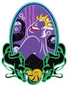 Ursula embroidery design