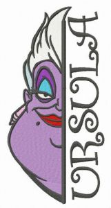 Ursula embroidery design 3