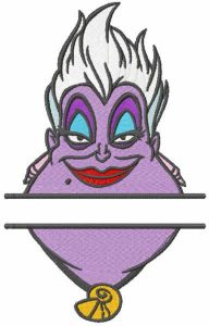 Ursula monogram embroidery design