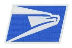 USPS logo embroidery design