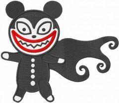 Vampire Teddy embroidery design