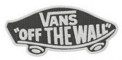 Vans logo embroidery design