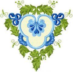 Vignette 3 embroidery design