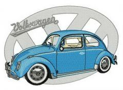 Volkswagen Type 1 embroidery design