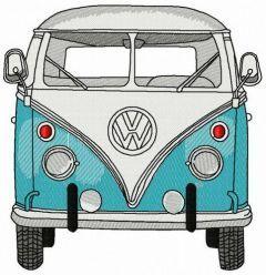 Volkswagen Van embroidery design