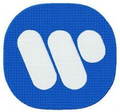 Warner Music Group Logo embroidery design