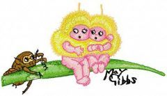 We are Afraid of this Beetle 2 free machine embroidery design