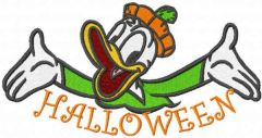 Welcome my halloweeen embroidery design