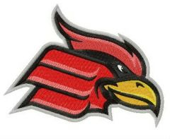 Wheeling Cardinals logo embroidery design