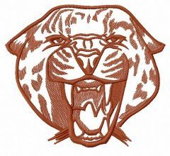 Wild cheetah 4 embroidery design