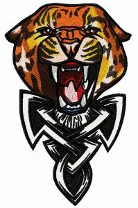 Wild cheetah 5 embroidery design
