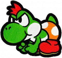 Yoshi embroidery design