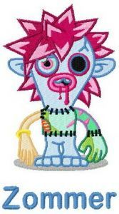 Zommer embroidery design