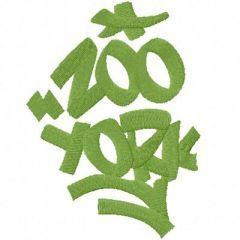 Zoo York Logo embroidery design
