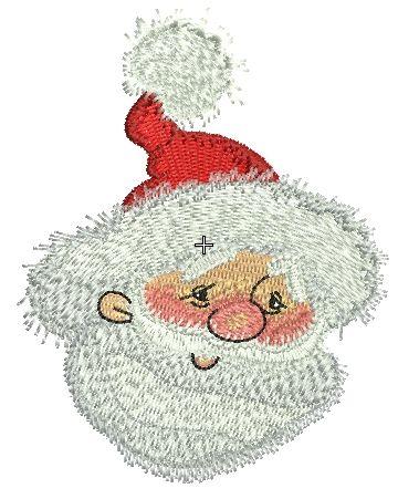 Kind Santa embroidery design 3