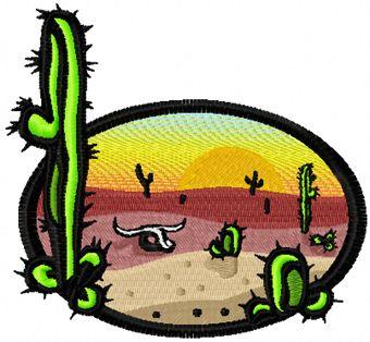 Mexico free machine embroidery design